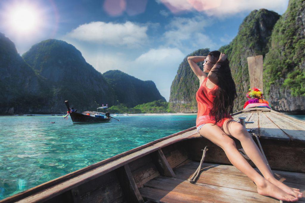Belle femme thaïlandaise